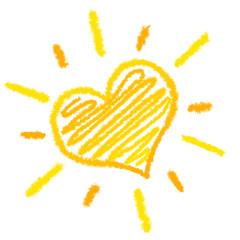 Herz Sonne