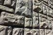 Plates stone fence