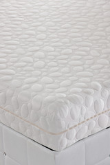 Bed Mattress close up