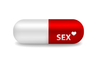 vector pill of sex