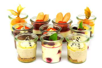 Desserts im Glas