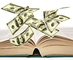 Falling notes of US dollar on the developed book