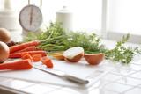 Fototapety キッチンの野菜