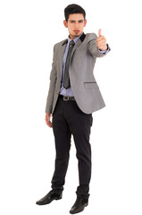 man in fashionable suit