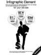 BUSINESSMAN MODERN INFOGRAPHIC BLACK 9
