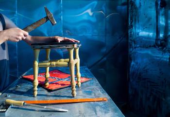 Repair of stool