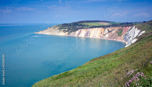 Alum Bay Isle of Wight by the Needles