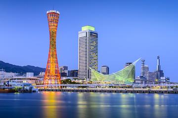 Kobe, Japan at the Port of Kobe