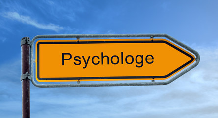 Strassenschild 8 - Psychologe