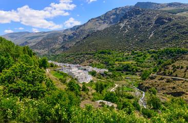 Trevelez Village Alpujarras, Granada Province, Andalusia, Spain