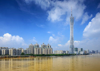 Guangzhou, China Cityscape