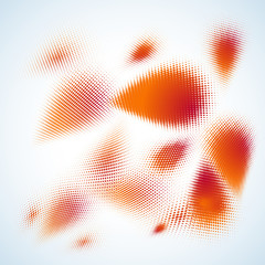 Abstract halftone design. EPS 10