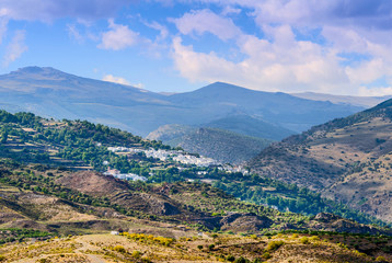 Berchules and Alcutar Villages, Granada, Andalusia, Spain