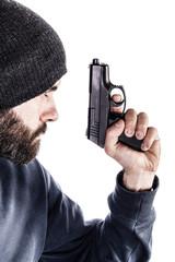 Armed guy