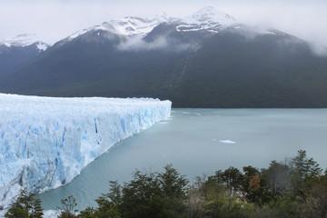 Perito Moreno glacier and lake. Argentina