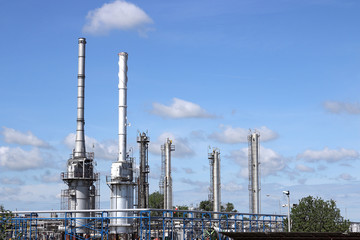petrochemical plant industry zone refinery
