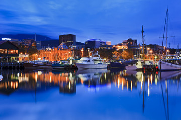 Hobart Harbour Yacht Gallery
