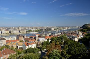Vista panoramica di Budapest. 7