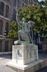 Statua di un immagine sacra , Budapest.