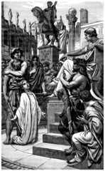 Early Christianity - Execution : Christian Martyr