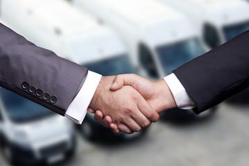 Transportation handshake