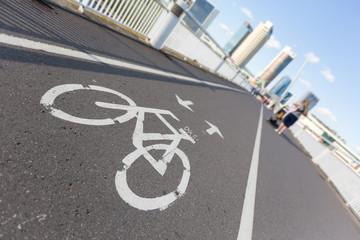 Bike Lane over the Bridge