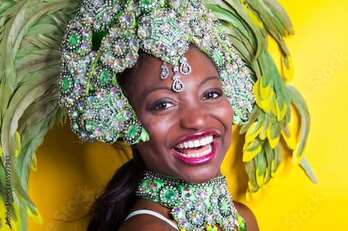 Papiers peints Carnaval Brazilian Samba Dancer