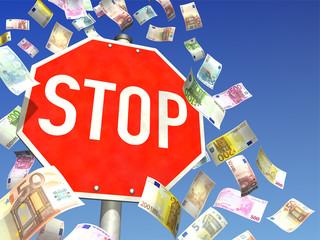 Geldverschwendung stoppen