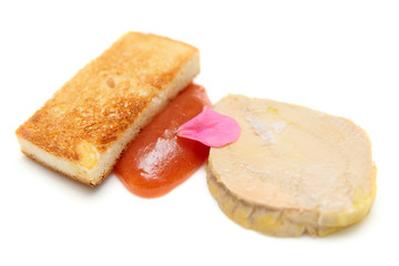 Foie gras with toast