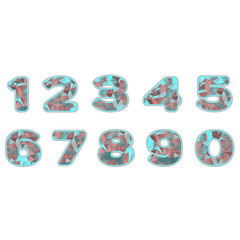 neon prism numbers