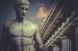 Greek Sculpture, hero apollo, classical statue - 65999361