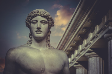Greek Sculpture, Statue of Hercules