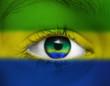 canvas print picture - Auge Brasilien