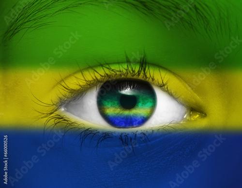 canvas print picture Auge Brasilien