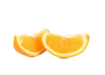 Two slices of orange.