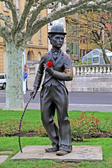 Charlie Chaplin,Vevey, Switzerland