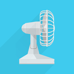 Vector flat icon for fan