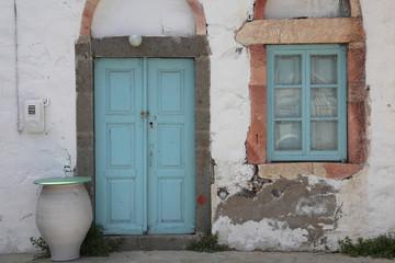 marodes Haus in Griechenland