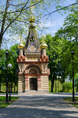 Gomel, chapel tomb Paskevich