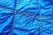 plastic waterproof tarpaulin with rope - 66005342