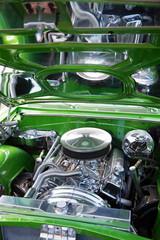 Close-up of Car's Engine