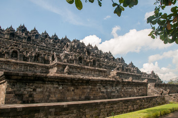 Side of Borobudur