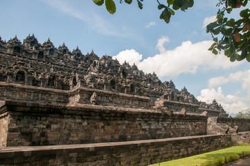 Side of Borobudur