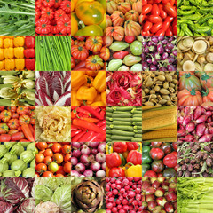 colorful vegetable background