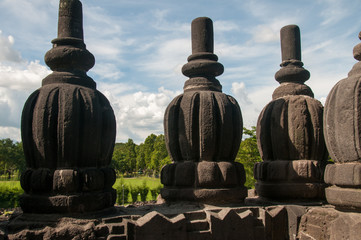 Details of temple in Prambanan