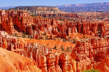 Beautiful hoodoos of Bryce Canyon National Park, USA