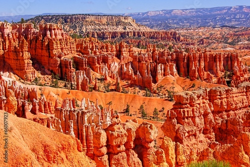Beautiful hoodoos of Bryce Canyon National Park, USA - 66007923