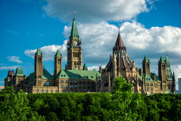 Parliament Hill From the Back