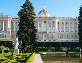 Royal Palace Madrid,Sabatini garden-2