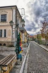 Old buildings in Florina, Greece